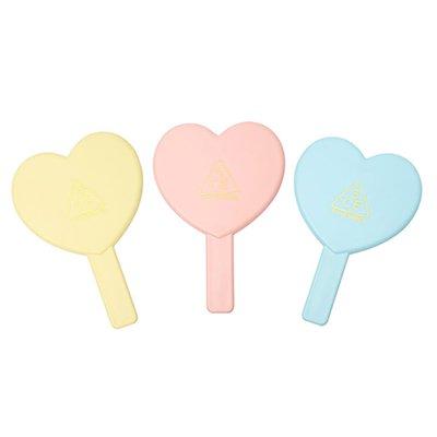 【3CE】ラブ 3CE ハート ハンド ミラー / Love 3CE Heart Hand Mirror