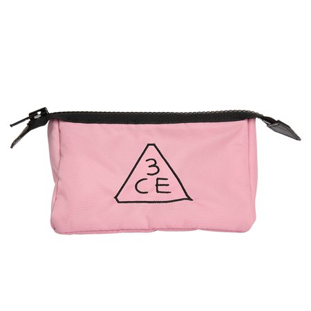 【3CE】ポーチ ピンクルーマー / 3CE PINK RUMOUR POUCH_SMALL