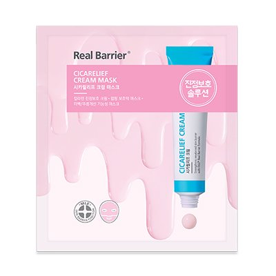 【Real Barrier】リアルバリア シカリリーフ クリーム マスク ATOPALM Real Barrier Cicarelief Cream Mask 16g*10枚