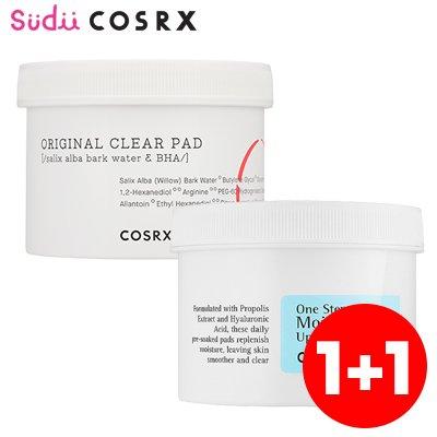 【SALE】【COSRX】コスアールエックス モイスチャーアップパッド/ピンプルパッド COSRX One Step Moisture Up Pad/Original Clear Pad 70枚入り