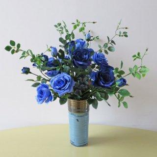 光触媒アートフラワーアレンジメント【ウェリタース】「夢が叶(かな)う」そんな花言葉のブルーローズは、「開店」を「起業」を夢見ていた人への贈り物として