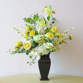 光触媒アートフラワーアレンジメント【シャルム】開店祝いにおすすめです。見栄えに差がつく高品質なお花を