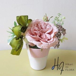 光触媒アートフラワーアレンジメント【アンナ】シックな造花アレンジメントです。