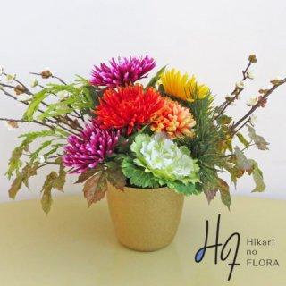 高級造花インテリア【雅�】アーティフィシャルフラワー(高級造花)を使用した和風アレンジメントです。