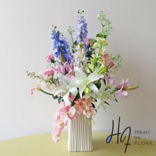 高級造花アレンジメント【グランツ】100cmの大型高級造花アレンジメントです。