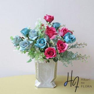 高級造花アレンジメント【プルマ】オシャレな高級造花アレンジメントです。