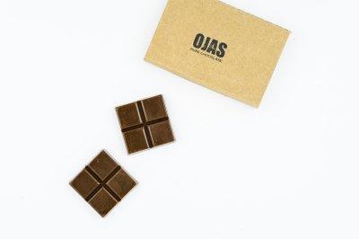 「HOUJI-CHA」BOX RAW CHOCOLATE /「ほうじ茶」ボックスローチョコレート