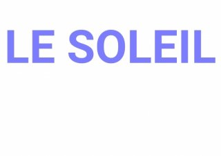 No.179 LE SOLEIL ※半袖/長袖 在庫あり