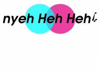 No.207 Nyeh Heh Heh! ※半袖/長袖 在庫あり(ロンT/カットソー/英語/英字/ブルー/青/レッド/赤/シンプル)