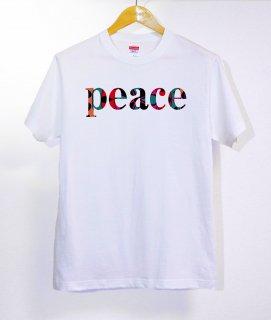 No.313 pray for peace ※半袖/長袖 在庫あり(ロンT/カットソー/英語/英字/カラフル/柄/シンプル)