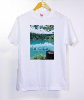 No.363 Beautiful Lake ※半袖/長袖 在庫あり(ロンT/カットソー/写真/湖/風景/エメラルドグリーン/クール)