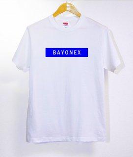 No.368 BAYONEX ※半袖/長袖 在庫あり(ロンT/カットソー/英語/英字/ブルー/青/シンプル)