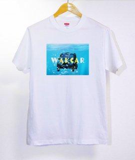 No.399 Wakcar ※半袖/長袖 在庫あり(ロンT/カットソー/写真/海/水/車/合成/ブルー/青)