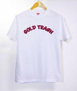 No.433 GOLD TRASH ※半袖/長袖 在庫あり(ロンT/カットソー/英語/英字/レッド/赤/ポップ)