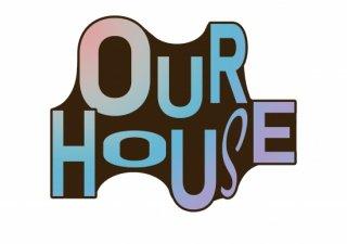 No.651 OUR HOUSE ※半袖/長袖 在庫あり(ロンT/カットソー/英語/英字/カラフル/ポップ/スタイリッシュ)