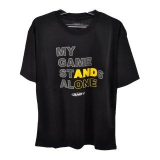 AND1(アンドワン) S738110908 メンズ バスケットウェア 半袖Tシャツ STANDS ALONE TEE