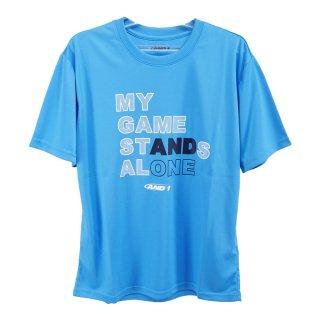 AND1(アンドワン) S738110905 メンズ バスケットウェア 半袖Tシャツ STANDS ALONE TEE