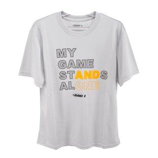 AND1(アンドワン) S738110904 メンズ バスケットウェア 半袖Tシャツ STANDS ALONE TEE
