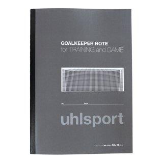 uhlsport(ウールシュポルト) U91911 GKノート サッカーキーパー 小物 練習 メモ帳