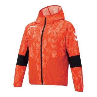 hummel(ヒュンメル) HAW2077 ウーブンフーデッドジャケット スポーツウェア トレーニング メンズ レディース