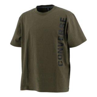 CONVERSE(コンバース) CA201373 クルーネック ロゴ Tシャツ アスレチック アクティブウェア