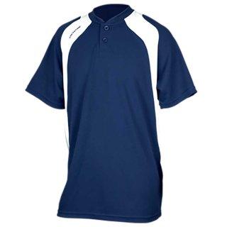 ONYONE(オンヨネ) OKJ94759 2ボタン コットン Tシャツ 半袖 トレーニング キャンプ 野球 ベースボール