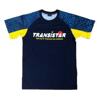TRANSISTAR(トランジスタ) HB20ST03 HB ゲームシャツ CRYPTOGRAH ハンドボールウェア