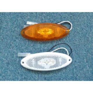 サイドマーカーランプLED(オレンジ)楕円タイプ