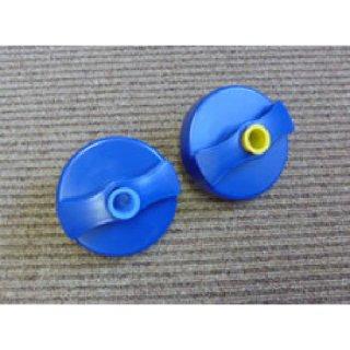 給水キャップ ブルー(シリンダーなし)、キー内溝