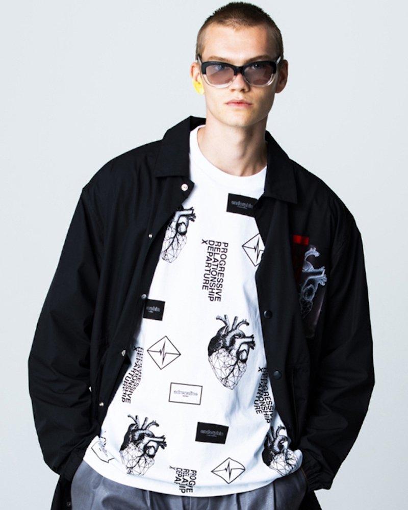 オーバーサイズ&ストリート『Re:one Online Store』「PARADOX」GRAPHIC L/S TEE(WHITE)