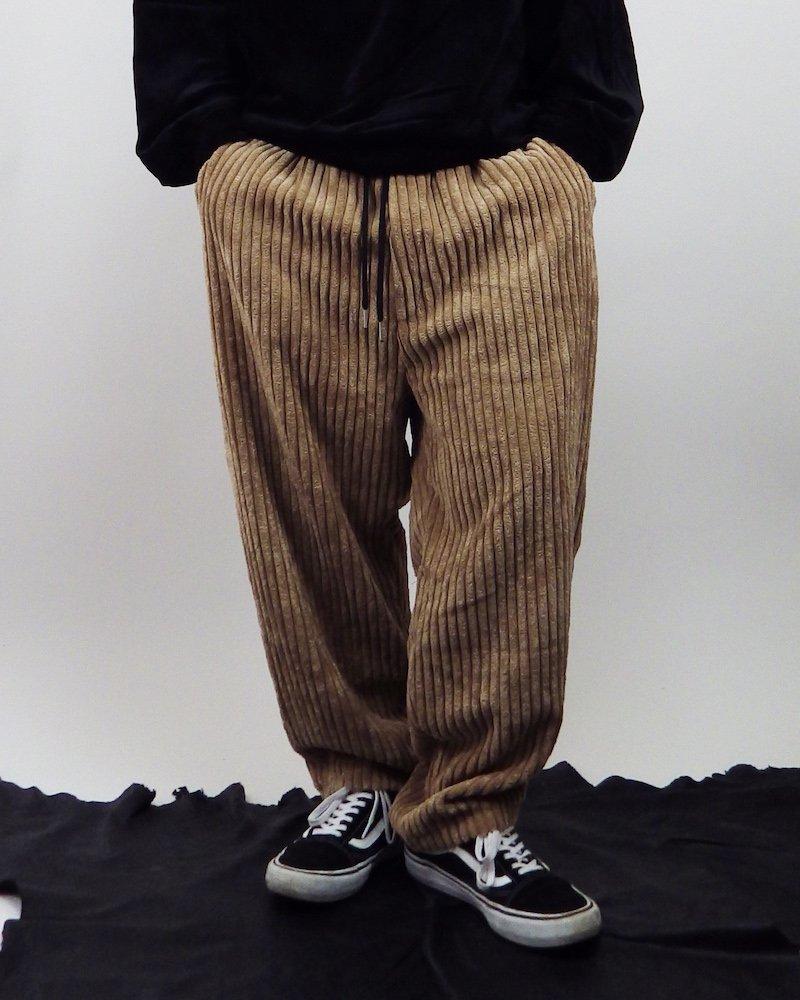 オーバーサイズ&ストリート『Re:one Online Store』「NINE NUTS」BEIGE loose  wide pants
