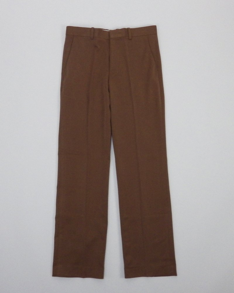 オーバーサイズ&ストリート『Re:one Online Store』Brown slim slacks