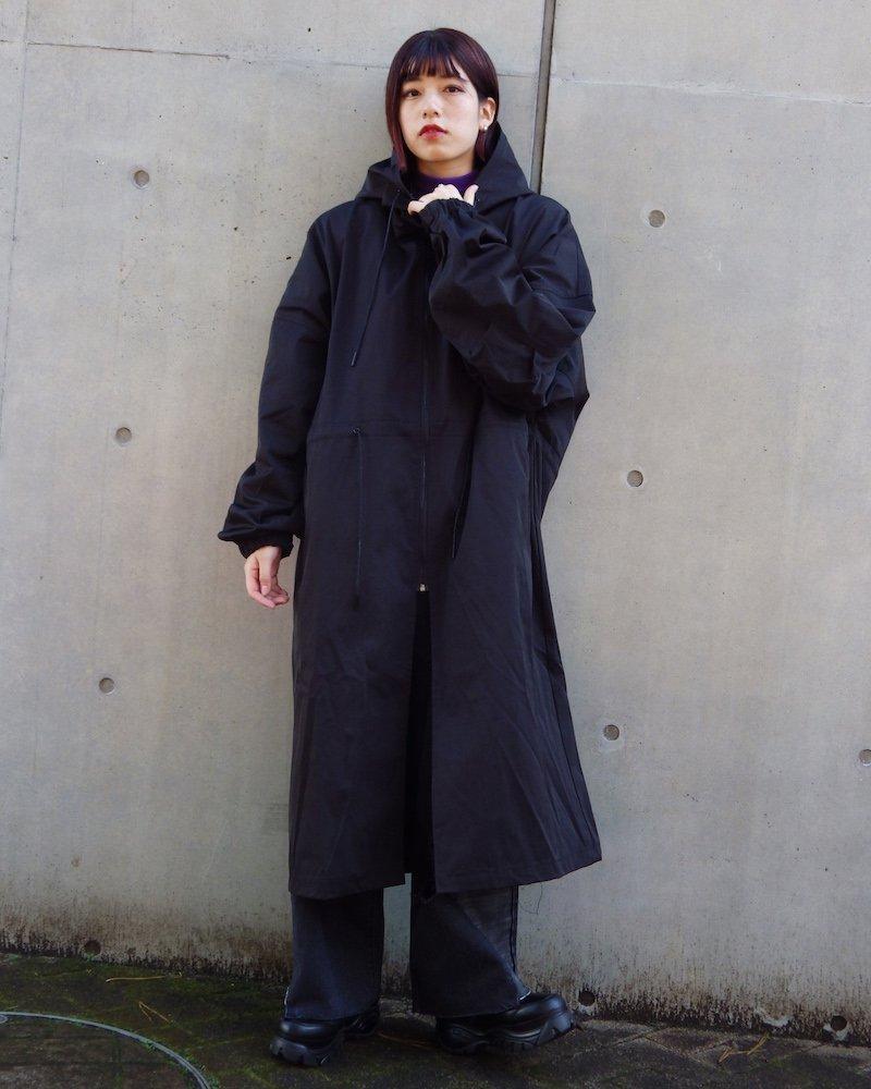 オーバーサイズ&ストリート『Re:one Online Store』「EDDEN」Long loose mod coat -BLACK-