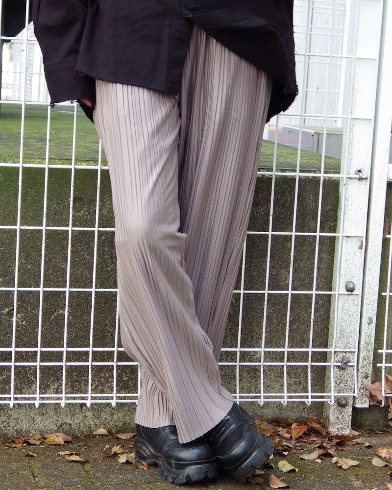 オーバーサイズ&ストリート『Re:one Online Store』「ATTENION」FLUFFY BASICS PANTS -BEIGE-