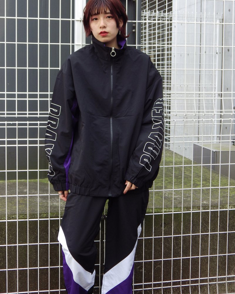 オーバーサイズ&ストリート『Re:one Online Store』「ATTENTION」 IMAGINE BLOUSON -BLACK-