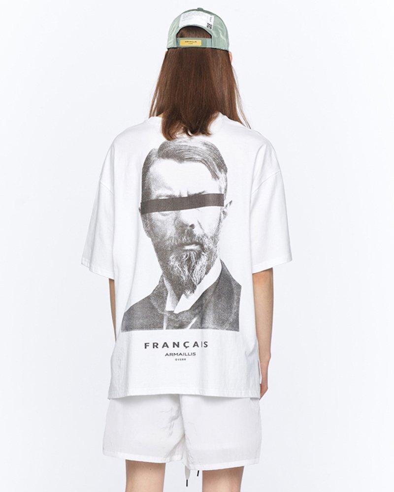 オーバーサイズ&ストリート『Re:one Online Store』「OVERR」ESSAY. INFLUENCE WHITE T-SHIRTS
