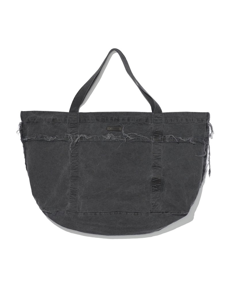 オーバーサイズ&ストリート『Re:one Online Store』「OVERR」PIGMENT CHARCOAL TOTEBAG