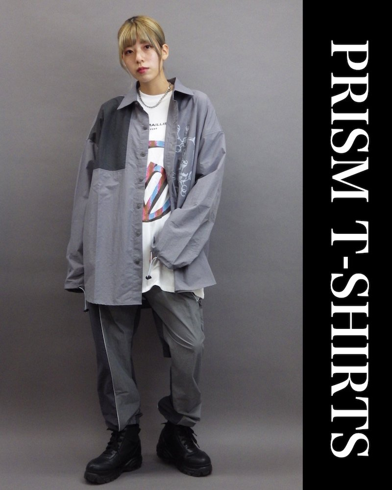 PRISM WHITE T-SHIRTS(OVERR) コーデイメージ(2)