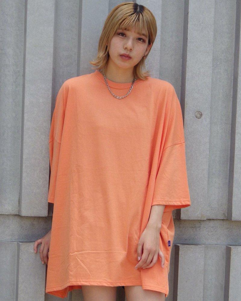オーバーサイズ&ストリート『Re:one Online Store』「NINE NUTS」Big orange t-shirt