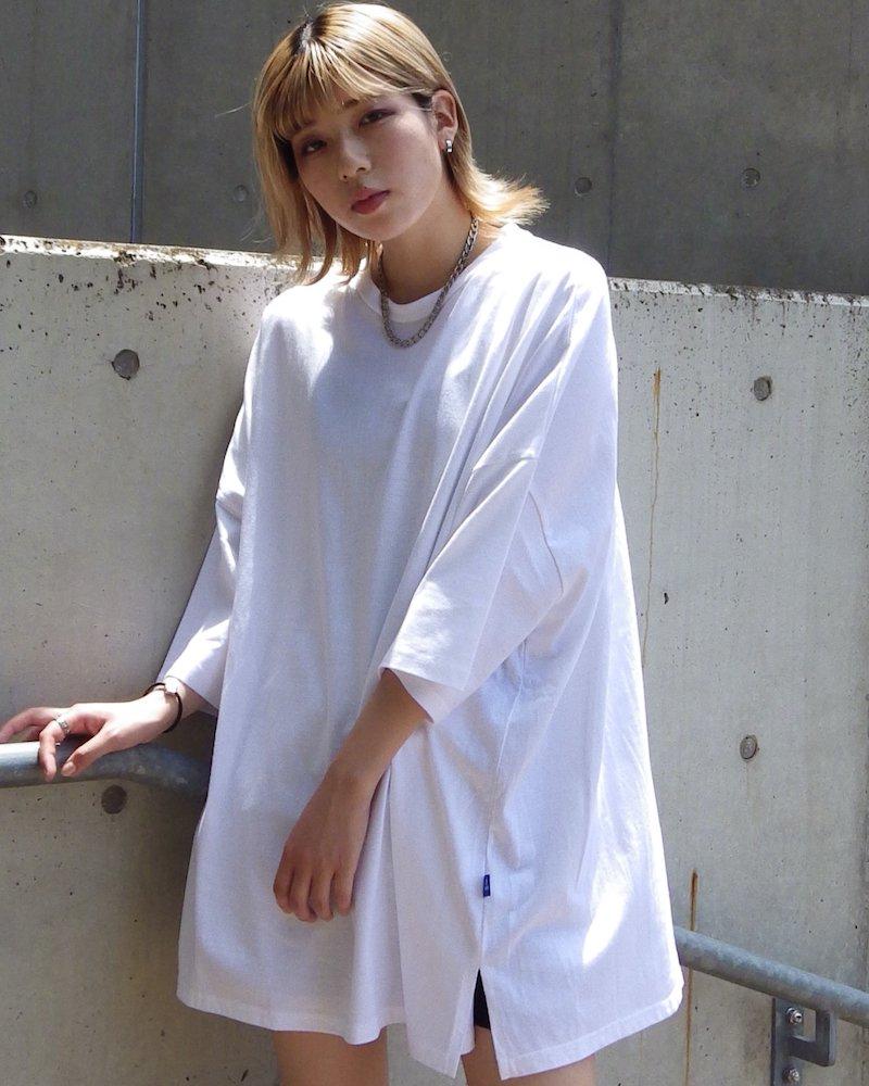 オーバーサイズ&ストリート『Re:one Online Store』「NINE NUTS」Big white t-shirt