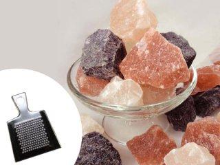 グルメソルト4 〜ヒマラヤの恵み〜 ヒマラヤ岩塩4種+おろし金付