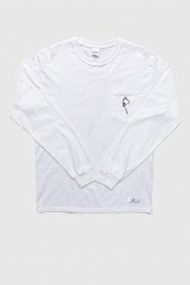 Print L/S Pocket T-Shirt