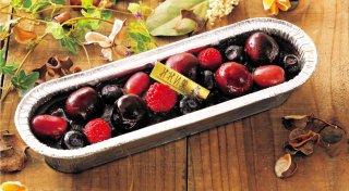 葡萄とベリーのカタラーナ