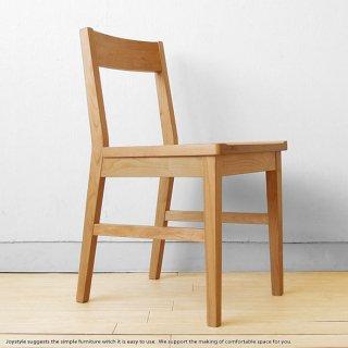 ダイニングチェア アルダー材使用 シンプル デスクチェア 木製椅子 学習椅子 アルダー無垢材 アルダー天然木(※デスク・キャビネット別売)