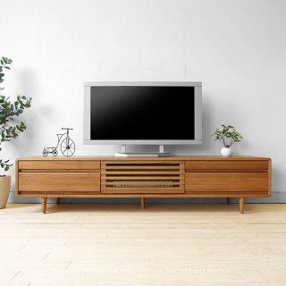 テレビ台 数量限定商品 タモ材 限定色 幅180cm タモ材 オイル仕上げ 木製 北欧テイスト タモ無垢材 テレビボード CRUST+TV180NN