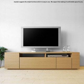 テレビ台 幅150cm ナチュラル色 和モダンテイスト ナチュラルテイスト 収納力があるシンプルモダンデザインのロータイプのテレビボード