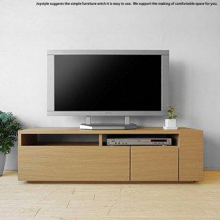 テレビ台 幅120cm ナチュラル色 和モダンテイスト ナチュラルテイスト 収納力があるシンプルモダンデザインのロータイプのテレビボード