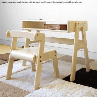 キッズデスクセット 木製机と椅子 子ども用ミニチュアデスクとミニチュアチェア ラバー無垢材 真っ白で丸みを帯びたフォルムが可愛らしい ラバー材 ラバー天然木