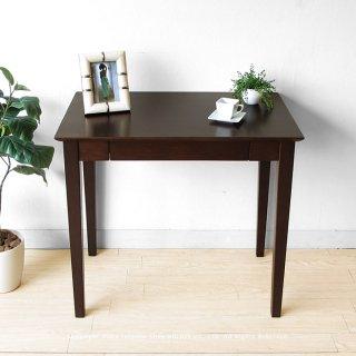 幅80cm 85cm 90cm 75cmの4サイズ ニレ材 ニレ無垢材 ニレ天然木 木製デスク 引き出し付きの書斎机
