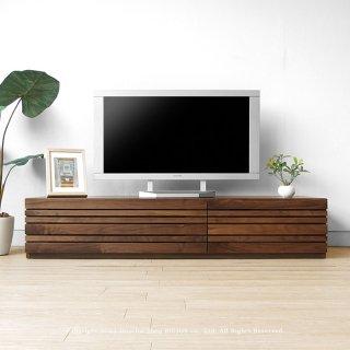 幅150cm 180cm 210cm 240cm ウォールナット材 ウォールナット無垢材 木製テレビ台 和モダンテイストなテレビボード REGATO-TV150